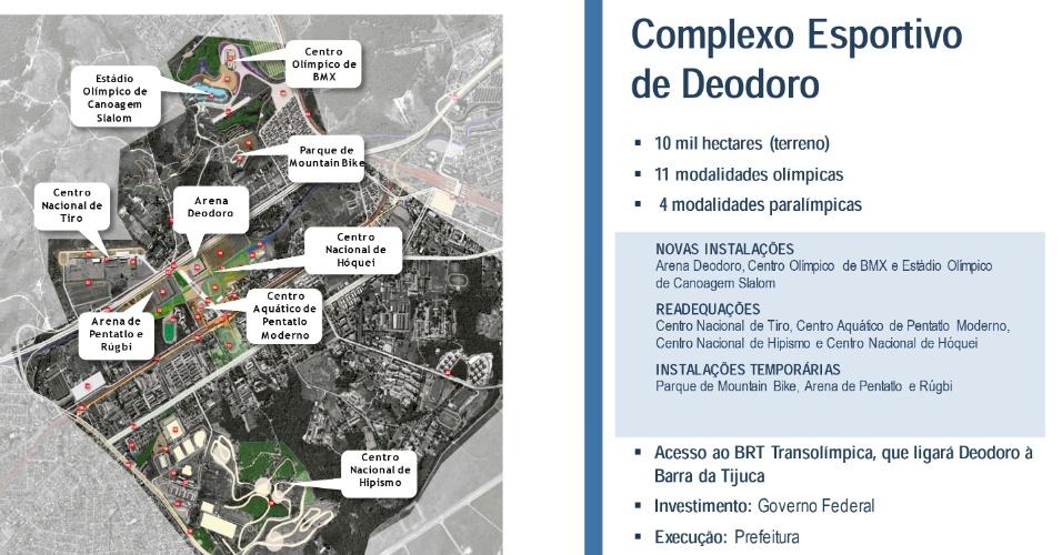 6.nov.2013 - Complexo Esportivo de Deodoro receberá 11 modalidades olímpicas e quatro paralímpicas