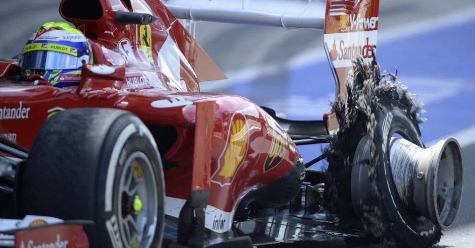 Oito GPs iniciais tiveram pneus criticados; Alonso seguiu superior em relação a Massa após mudança dos compostos