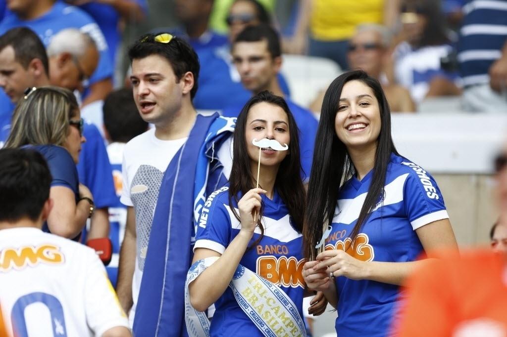 Bigodinho virou marca da torcida cruzeirense para este Brasileirão, em homenagem a Willian