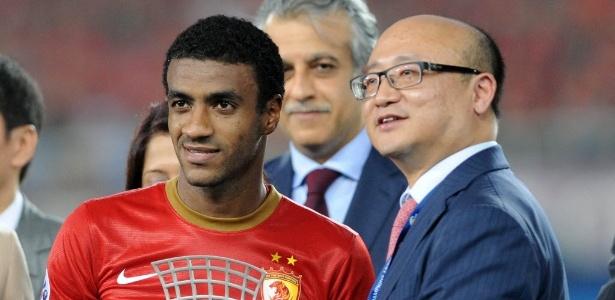 Muriqui já foi eleito o melhor jogador da Liga dos Campeões Asiática