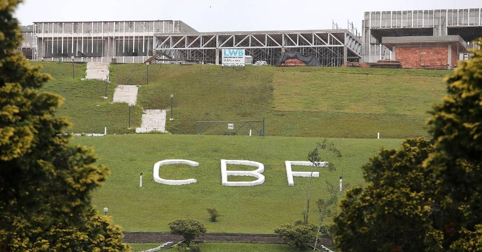 CT da CBF em Teresópolis, a Granja Comary está em obras para receber a seleção na Copa