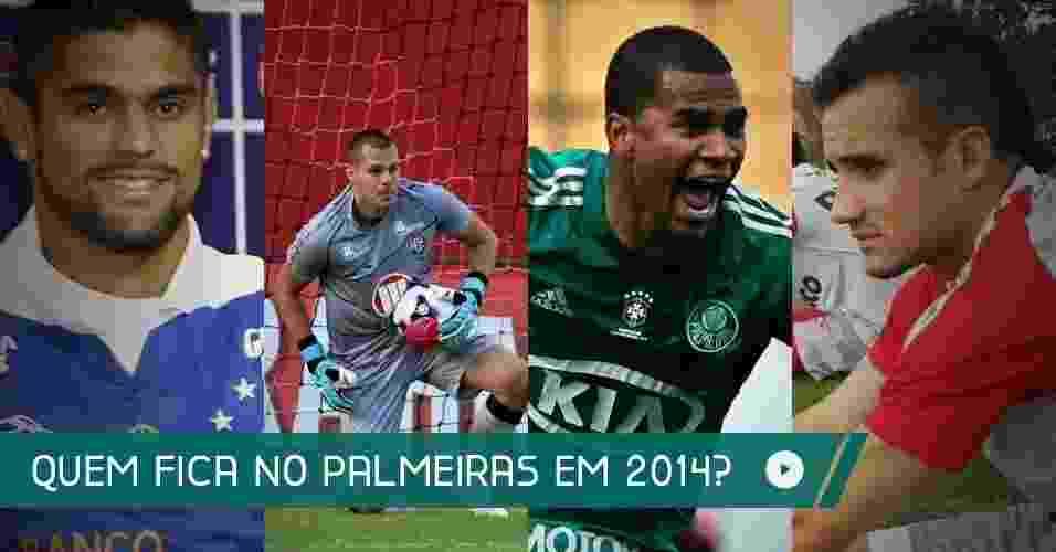 O Palmeiras tem uma leva de jogadores emprestados voltando e outra leva do atual elenco esperando renovação de contrato. Saiba como está a situação de cada um deles - Arte UOL