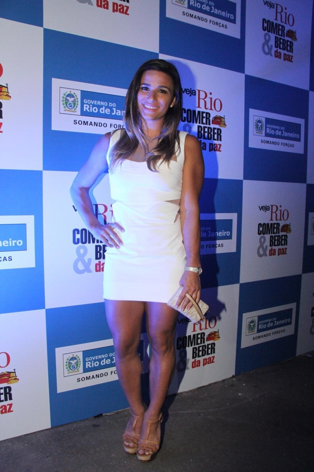 13.nov.2013 - Jade Barbosa comparece a premiação no Rio de Janeiro