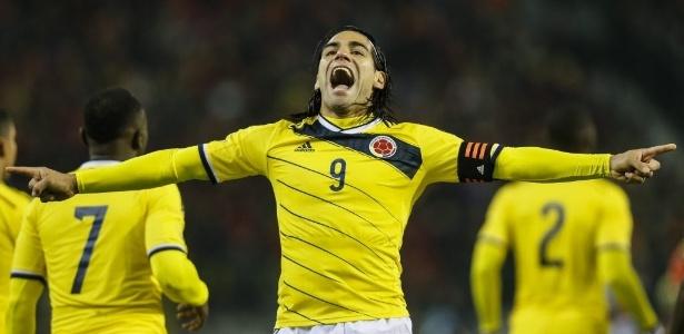 Falcao Garcia, se recuperando de lesão no joelho, foi chamado na pré-lista da Colômbia
