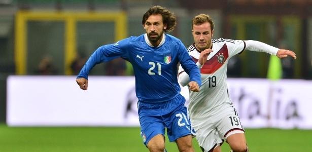Alemanha e Itália já fizeram até final de Copa, mas podem cair no mesmo grupo em 2014 no Brasil