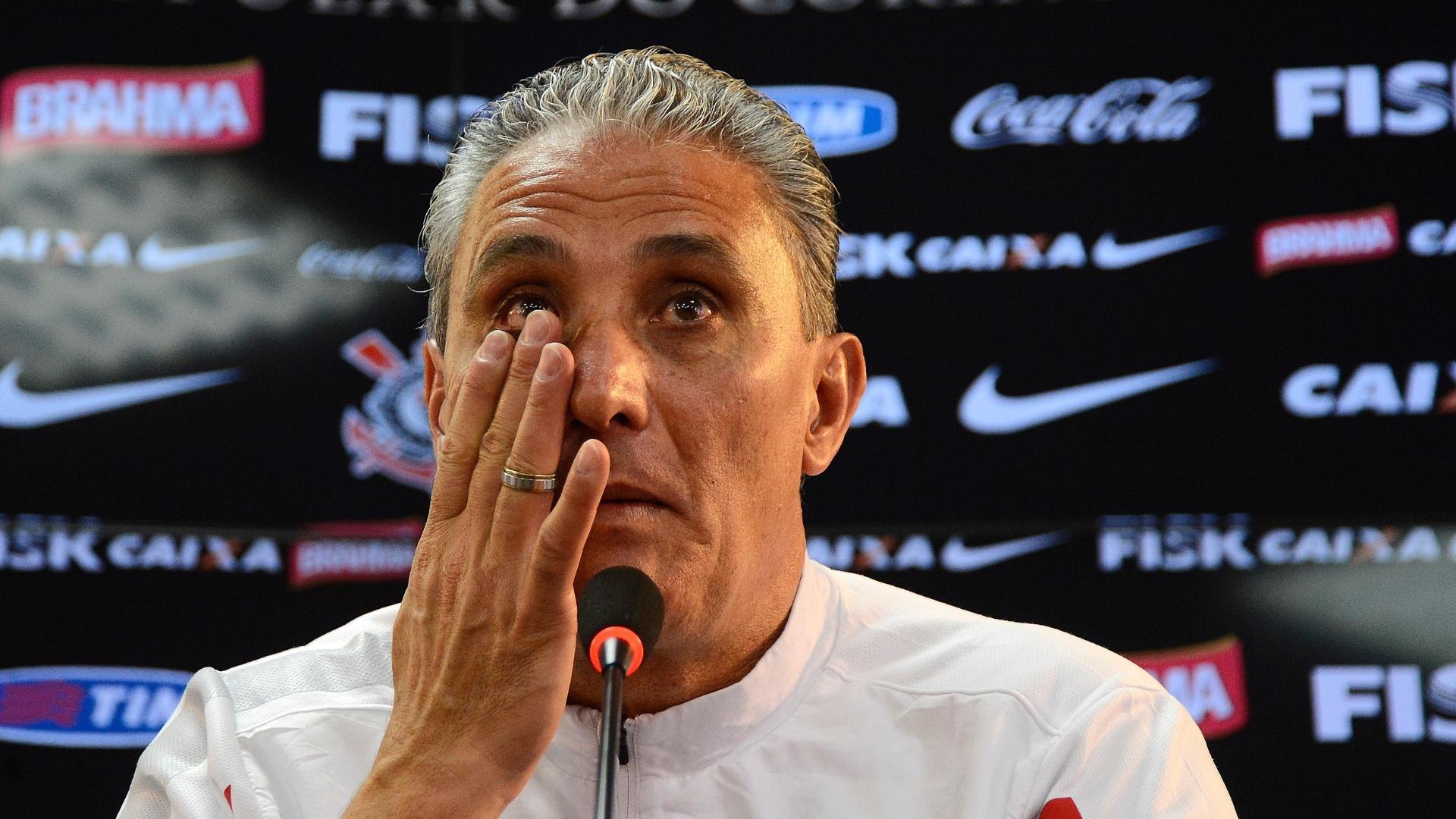 6ed11249bdd Tite faz  treino fantasma  e confirma mesmo Corinthians que empatou ...