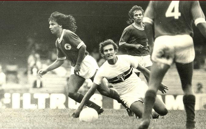 Pedro Rocha, do São Paulo, em partida contra o Guarani