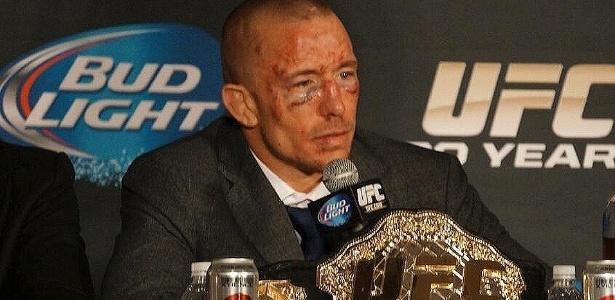 St-Pierre não luta desde novembro de 2013 - UFC/Divulgação