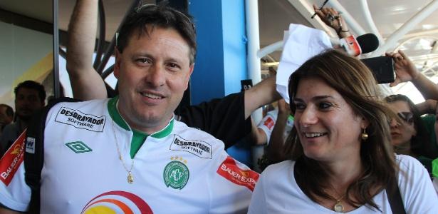 Sandro Pallaoro ergueu a Chapecoense no futebol brasileiro