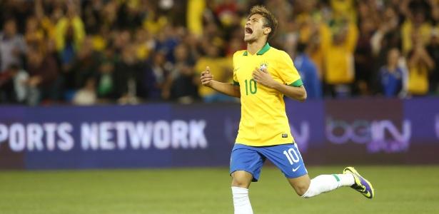 Neymar é a grande aposta do Brasil para vencer a Copa do Mundo jogando em casa