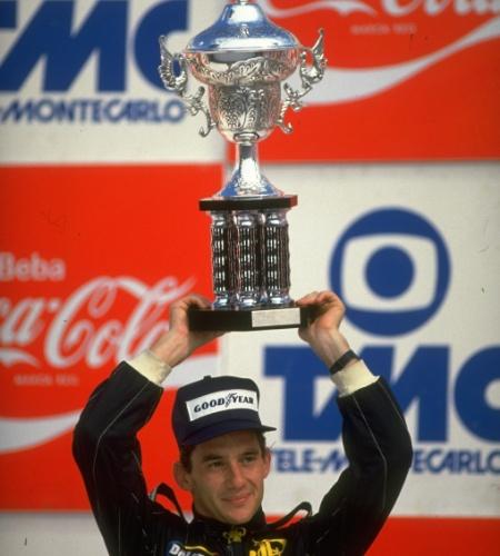 23.03.86 - Ayrton Senna foi segundo colocado no GP Brasil de 86, no Rio