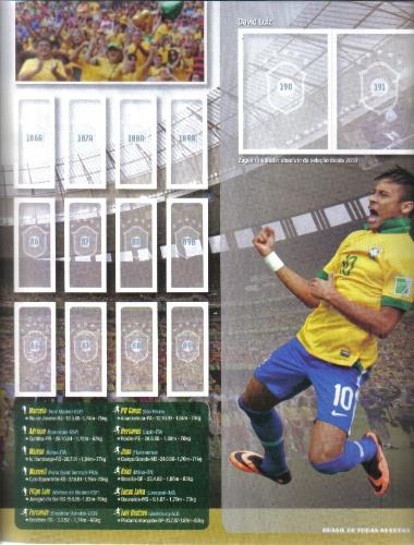 Álbum terá informações e curiosidades sobre as participações do Brasil em torneios internacionais
