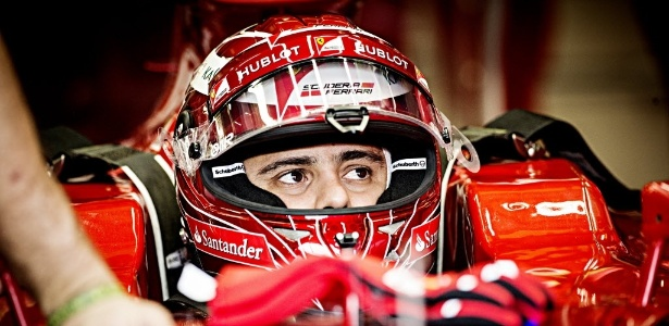 O piloto Felipe Massa