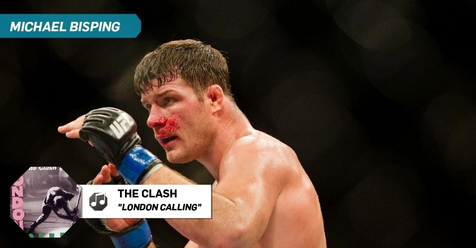 "Michael Bisping - ""London Calling"", The Clash"