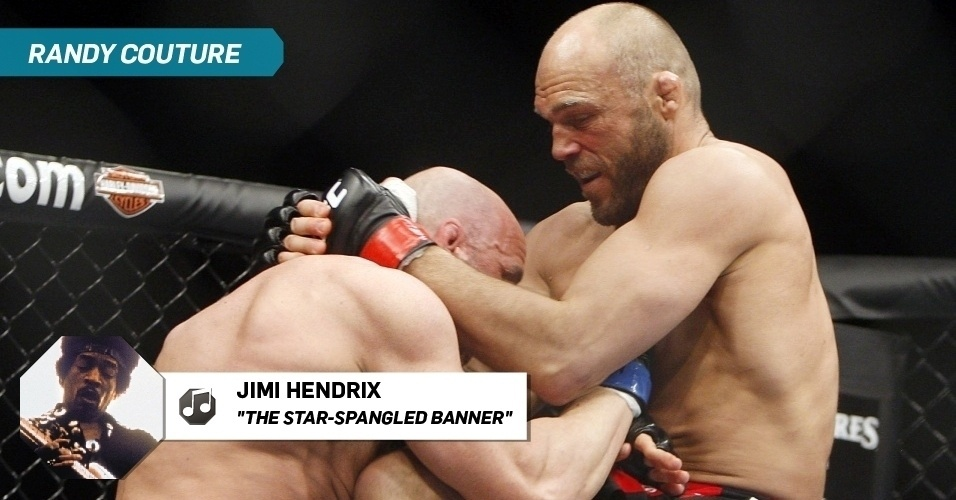 "Randy Couture - ""The Star-Spangled Banner"", Jimi Hendrix"