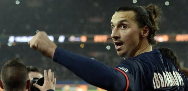Ibra foi o autor de quatro dos nove gols da goleada do último final de semana