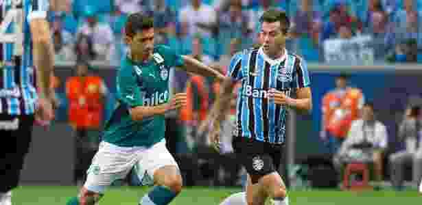 Para jornal chileno, único bom momento de atacante nos últimos anos foi no Grêmio - Vinícius Costa/ Agência Preview
