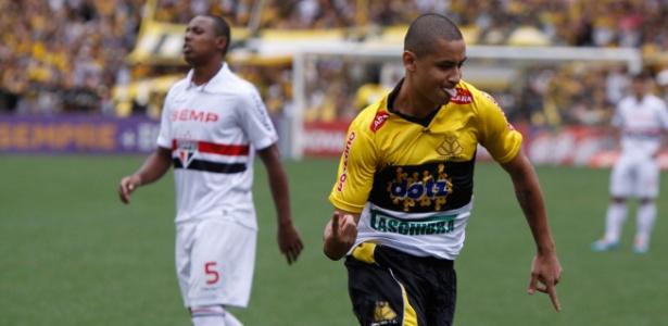 Jogo do Criciúma e São Paulo deu 13 de média na Globo