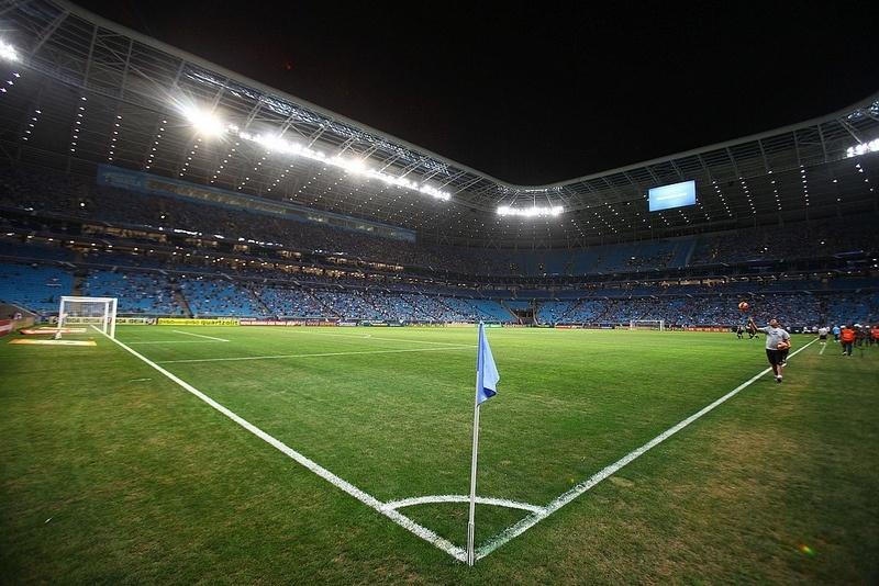 Arena do Grêmio tem queda na aparência do gramado, mas garante qualidade