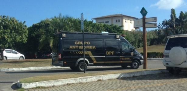 Carro antibomba será utilizado na proteção do sorteio da Copa
