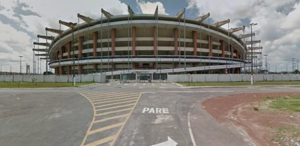 Estádio Mangueirão, em Belém (PA)