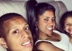 Filho de Marcelinho e estrela do futebol feminino Maurine engatam namoro