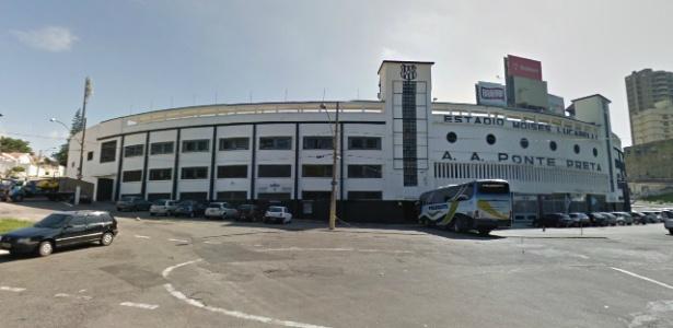 Jogador sub-20 é acusado de furtar produtos no alojamento da Ponte Preta - Reprodução/Google Street View