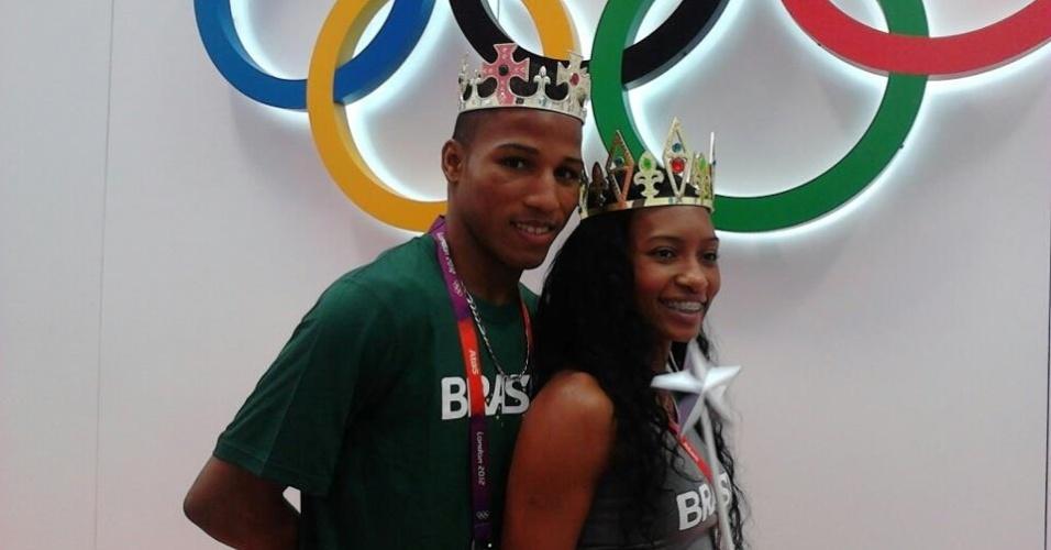 Dois anos depois do pedido de casamento no Pan, Erika Mattos e Robson Conceição se casam nesta sexta-feira, em Salvador