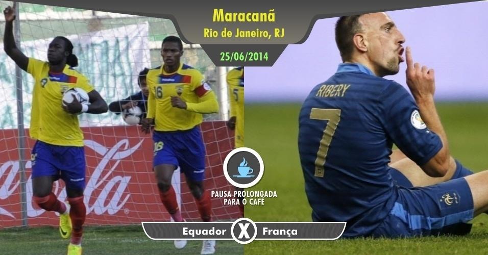 """Em uma quarta-feira sem jogos dos times no Rio no Maracanã, vale esticar a pausa no trabalho para assistir a Benzema, Ribéry e os """"Bleus"""". O Equador não invalida o passeio"""
