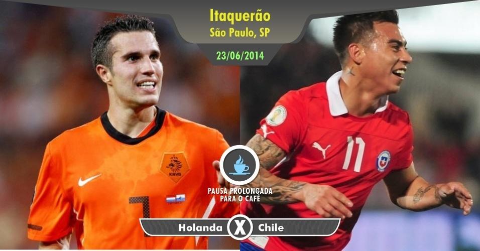 O Chile não deve ser o adversário mais difícil, mas uma partida da Holanda em Copa do Mundo no Itaquerão em plena segunda-feira vale o sacrifício de estender o almoço e passar lá para conferir