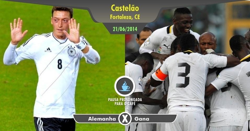 Só a Alemanha já seria suficiente para te fazer perder um tempinho com esse jogo. Gana é uma das seleções mais fortes da África, o que também ajuda. Mas para completar, este será o jogo que colocará frente a frente dois irmãos Boateng, o ganense Kevin-Prince e o alemão Jerome.