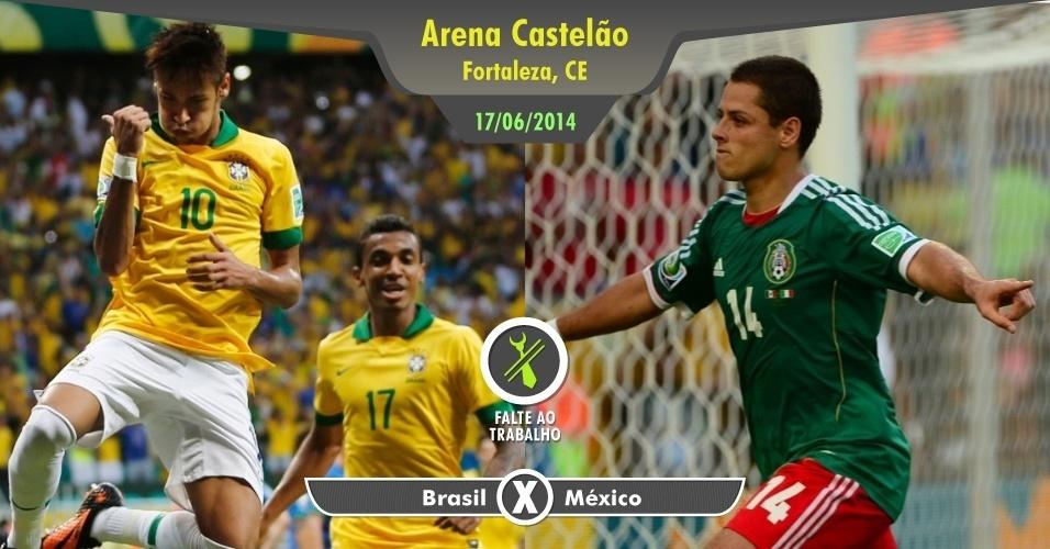 Como se não bastasse o México ser uma pedra no sapato dos brasileiros em anos recentes, jogo da seleção brasileira em Copa é sempre motivo para deixar trabalho, aula ou outros compromissos de lado. Ainda mais quando se trata de um jogo histórico: as duas seleções se enfrentaram em 1950