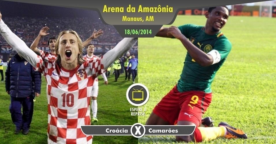 Se você não estiver passando férias em Manaus ou for morador da capital amazonense, não se preocupe tanto com o duelo entre Croácia e Camarões. Se tiver gol no jogo, assista depois