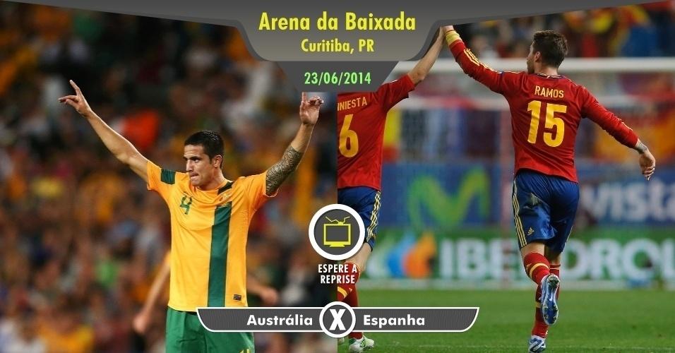 O último jogo do Grupo B não deverá ter grandes emoções. Com a Espanha provavelmente já classificada e sem muitos objetivos, é melhor aproveitar a beleza do povo curitibano