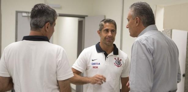 Sylvinho foi auxiliar técnico do Corinthians nas temporadas 2013 e 2014 - Daniel Augusto Jr./Ag. Corinthians