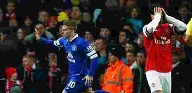 Revelado pelo Barça, o atacante chegou ao Everton na temporada 2013/2014 - REUTERS/Andrew Winning