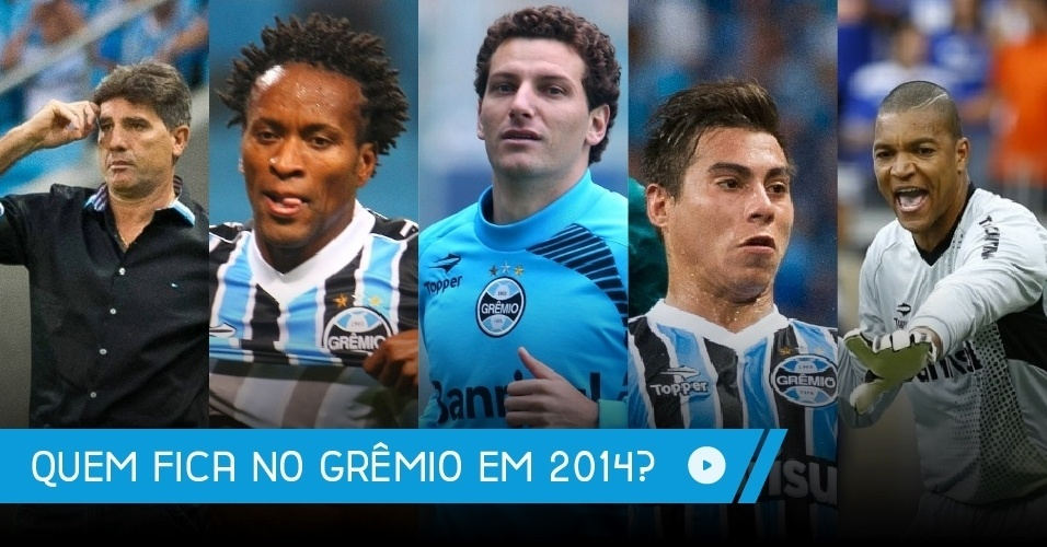 Com vaga assegurada na Libertadores de 2014, o time gaúcho ainda vive a indefinição da permanência do técnico Renato Gaúcho e de jogadores renomados, como Elano, Vargas e Zé Roberto