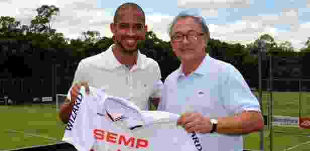 Luis Ricardo chegou como solução no São Paulo, mas perdeu espaço - Site Oficial / saopaulofc.net