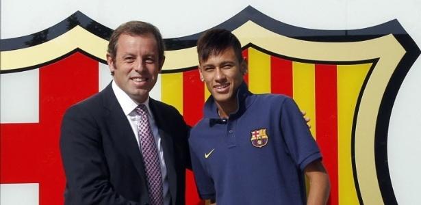 Santos acusa Neymar de ocultar valor real da venda, recebendo parte do dinheiro por fora