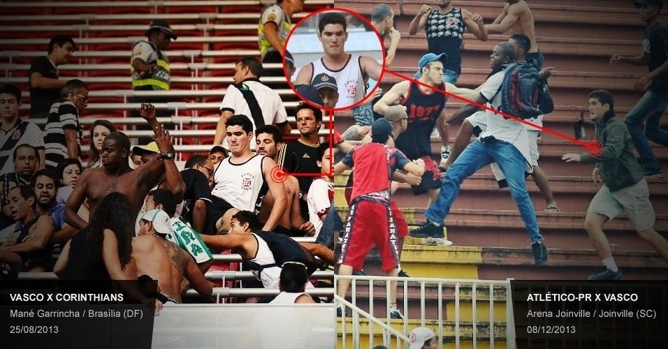Brigão vascaíno em Joinville esteve em confusão com corintianos no DF -  Esporte - BOL 60ab53bd4e9e1