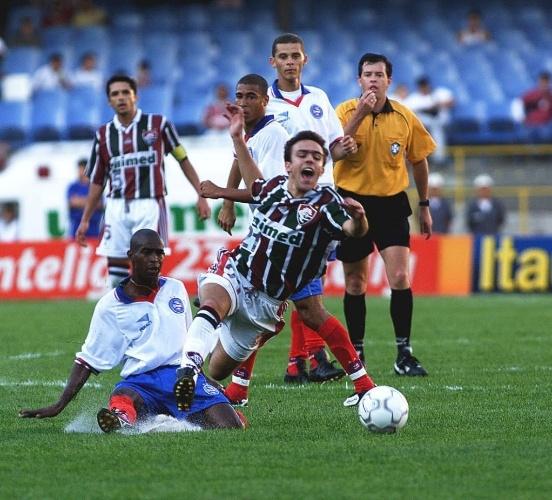 Além do Fluminense, outro beneficiado na virada de mesa foi o Bahia, que estava na Série B em 99, não subiu e ainda assim jogou o módulo principal da João Havelange em 2000