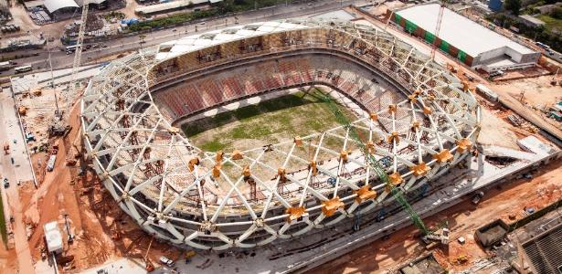 MP já havia pedido interdição das obras da Arena da Amazônia em junho deste ano