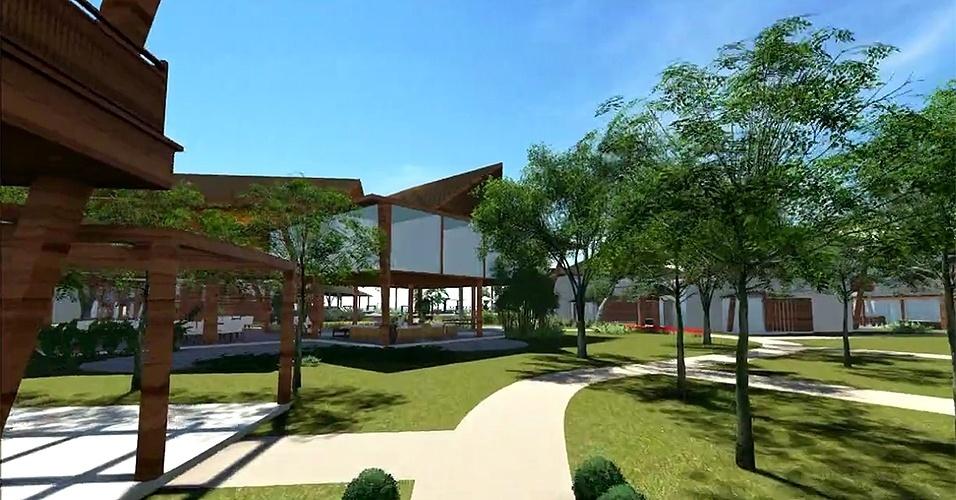 Projeto do Campo Bahia, CT que a Alemanha está construindo para a Copa do Mundo de 2014