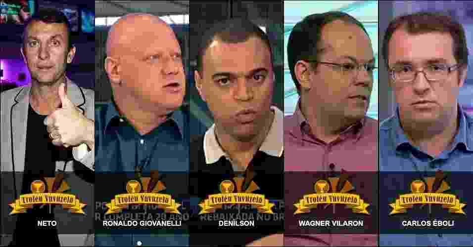 Troféu Vê TV - 14.Dez.2013 - UOL