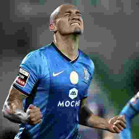 15.dez.2013 - Maicon comemora após marcar para o Porto contra o Rio Ave, pelo Campeonato Português - MIGUEL VIDAL/Reuters - MIGUEL VIDAL/Reuters