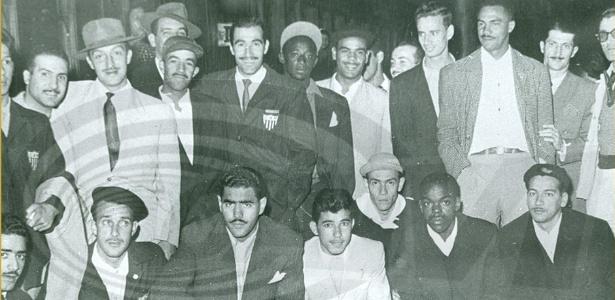 Elenco do Atlético-MG, campeão do Gelo em 1950, responsável por feito que entrou para a história do clube