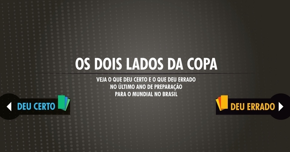 Veja o que deu certo e o que deu errado no último ano de preparação para o Mundial no Brasil