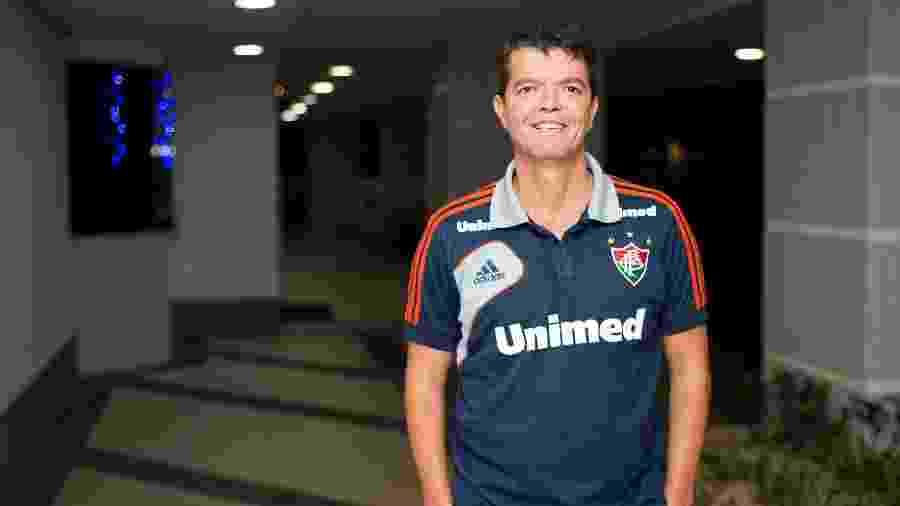 Ximenes foi executivo de futebol de clubes como Fluminense há pouco mais de seis anos - BRUNO HADDAD/FLUMINENSE F.C.
