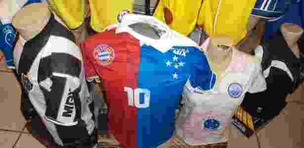 20d90d9a62 Dionizio Oliveira UOL. Camisa híbrida do Cruzeiro ...