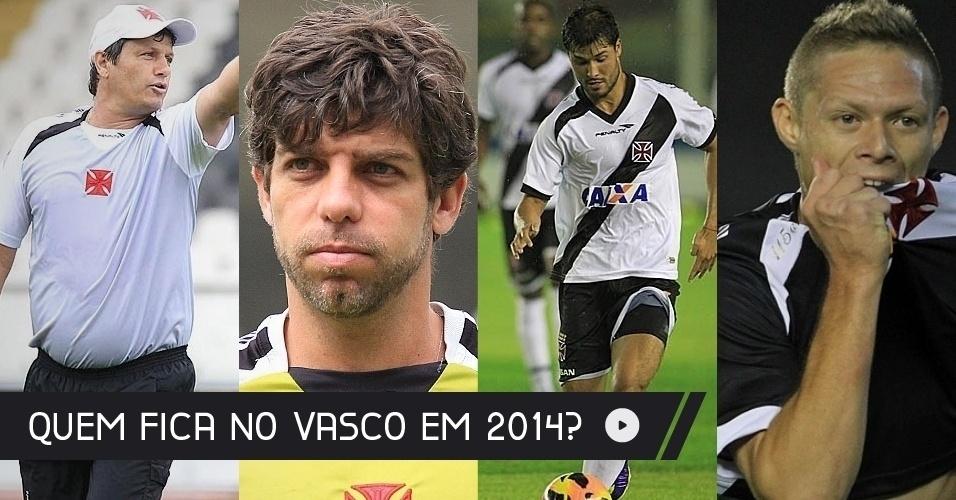 Após cair para a Série B pela segunda vez nos últimos cinco anos, o Vasco reformula o elenco para a próxima temporada.